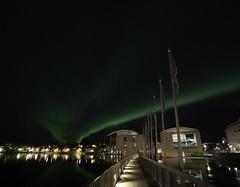 Rhs Reykjavkur Aurora (fridgeirsson) Tags: reykjavik city hall aurora borealis