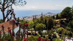 Chapelle de la quinta do Monte - Madeira (_BSnake_) Tags: chapelledelaquintadomonte monte chapelle kirche funchal panorama view panoramic montetofunchal monteview madeira