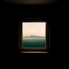 """Window 'n' View"" (helmet13) Tags: iphone studies window landscape minimalist view fenster landschaft einfachheit ausblick silence stille emptiness world100f aoi bestcapturesaoi peaceaward heartaward platinumheartaward 300faves artlibre simplicity"