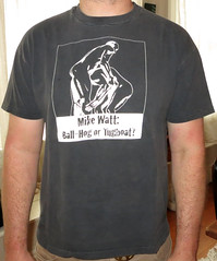 #629 Mike Watt - Ball-Hog Or Tugboat? (Minor Thread) Tags: shirt vintage tour solo minutemen firehose minorthread mikewatt sstrecords ballhogortugboat