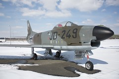 F-86K @ Luftwaffe Museum (NunoCardoso) Tags: berlin museum airplane fighter luftwaffe f86k