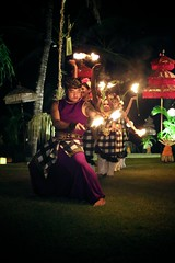 Fire Dancers (brianfarrell) Tags: ocean sea bali indonesia relax march surf peace lot wave serene relaxed tranquil tanahlot tanah 2013
