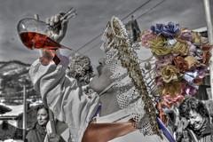 Porron desaturado (Thor_Crujehuesos) Tags: fiesta carnaval tradicion antropologa polaciones 2013 zamarrones zamarron 5dmarkii