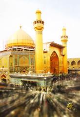Imam Ali (as) Holy Shrine (70hassan07) Tags: iraq tomb ali dome  najaf imam            grave