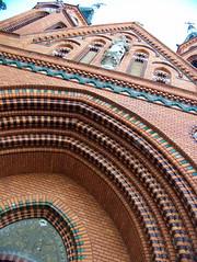 moravia 12 (ondey) Tags: brick church monument marie portal vault karel kostel moravia morava panny breclav cihly weinbrenner břeclav klenba památka portál lundenburg navštívení postorna poštorná cihlový