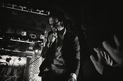 Nick Cave & The Bad Seeds (fotopersona) Tags: blackandwhite colorado theater fuji theatre denver nickcave ogden nickcavethebadseeds x100 2013 alexisclements lexiphoto silverefexpro2 fotopersona