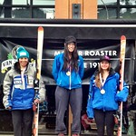 Panorama Van Houtte Spring Series - Charley Field 2nd on super-G podium (overall and U18) PHOTO CREDIT: Gregor Druzina