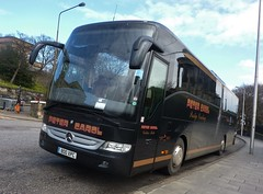 800 XPC (Cammies Transport Photography) Tags: road bus mercedes benz coach edinburgh peter carol regent coaches tourismo 800xpc