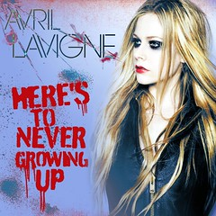 Avril Lavigne - Here's To Never Growing Up (Amyy97 Design's) Tags: never up fan made cover to growing avril heres lavigne