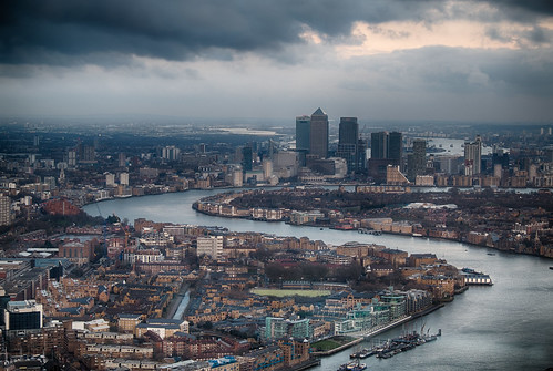River Thames and the City HDR