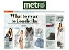 Metro New York | March 2013 | Piper hat