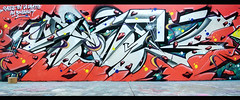 bah ouai Morrayyyy (SaNeR hVa KgB) Tags: street paris france wall writing painting graffiti fat letters spot peinture chrome writer graff rue mur lettres kgb wildstyle hva handstyle lettrage saner ptdq