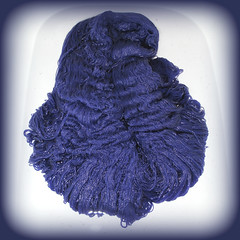blue cotton (difsus) Tags: blue bath highcontrast craft cleaning yarn cotton squareformat washing
