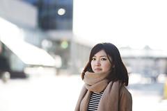 ともみ (johnorcullo) Tags: winter girls canada japan canon hair japanese spring winnipeg osaka tomomi
