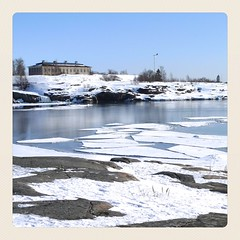sunny sunday 2 (europics) Tags: winter sea ice water finland frozen spring helsinki whiteness sirpalesaari