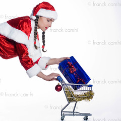 funny expressive santa claus woman (Franck Camhi) Tags: santa christmas xmas people woman white paris france girl female cutout shopping person one 1 costume holding trolley background young shoppingcart whitebackground gifts presents surprise present santaclaus surprised studioshot claus showing isolated preparation caddy oneperson amazed preparing shocked carrying caucasian vitality onewoman