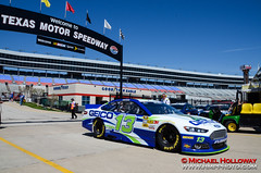 Welcome To Texas (HMP Photo) Tags: nascar autoracing motorsports racecars stockcarracing texasmotorspeedway stockcars caseymears circletrack sprintcup asphaltracing nikond7000 nra500