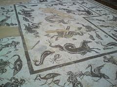 Neptune Mosaic - Itlica (eyair) Tags: sevilla spain ruins roman mosaic seville andalucia andalusia neptune italica romanruins santiponce itlica neptunemosaic ashmashashmash