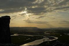 View from Dryslwyn Castle, Carmarthenshire