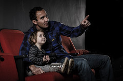 At the movies with daddy *Explored* (PhotoSolutions | over 95.000 views! Thank you!) Tags: movie nikon flash delft movies strobe atthemovies strobes flashgun strobist strobism photosolutions strobisme kinderopvangzon