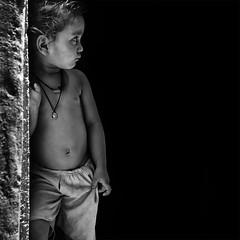 Behold (ayashok photography) Tags: boy portrait people bw india asian blackwhite kid nikon asia indian desi gaya bnw bharat kv bharath desh barat bihar barath 2013 nikkor70300mm nikonstunninggallery nikond40 ayashok dsc5781 ayashokphotography