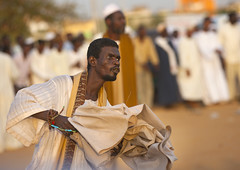 Sufi Whirling Dervishes At Omdurman Sheikh Hamad El Nil Tomb, Khartoum, Sudan (Eric Lafforgue) Tags: africa sky people music men horizontal outdoors photography togetherness clothing day northafrica soedan muslim islam sudan religion crowd performance happiness swirl turban cheerful groupofpeople khartoum sufi sufism oneperson traditionalculture soudan lifestyles headwear chanting transe northernafrica traditionalclothing capitalcities traveldestinations colorimage waistup largegroupofpeople  1people artscultureandentertainment szudn sudo  northernsudan mixedagerange burhaniya performingartsevent northsudan     dhikrceremony  xuan alburhaniya ert8725