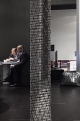 I-MESH Profile (I-MESH) Tags: wall booth arch installation gaetano salonedelmobile panelling scenography natuzzi leogrande imesh sailmakerinternationalspa