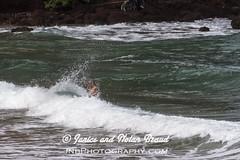 Kaihalulu Red Sand Beach on the Road to Hana JN074099 (JaniceNolan_braud) Tags: ocean family people beach hawaii dangerous maui tourist pacificocean tropical roadtohana roughwater redsandbeach roughocean kaihaluluredsandbeach