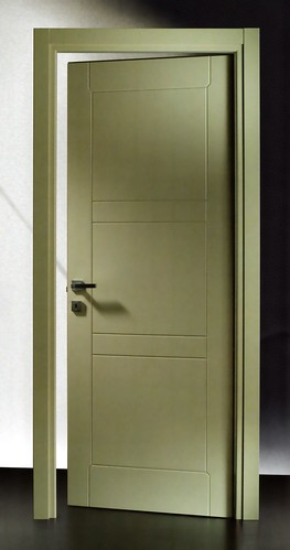 Porta Pantografata 67C RAL 1015