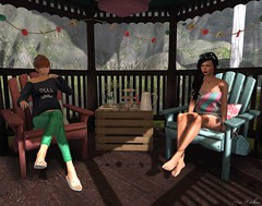 The Fashionista Garden Party... (Maci Restless) Tags: lisp vespertine thegarden littlehouseofcurios frihome