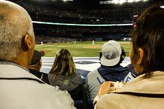Third Row (Paul Katcher) Tags: toronto canada sports baseball newyorkyankees torontobluejays rogerscentre andypettitte
