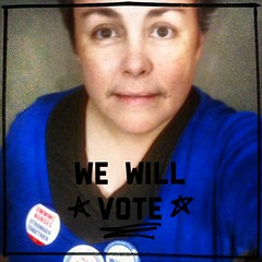 vote (ms.Tea) Tags: woman me female lesbian nurse 50 mna