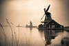 magic place (Pawelus) Tags: fog landscape kinderdijk zaanse holandia miejsca łapiński flickrstruereflection2 flickrstruereflection3 flickrstruereflection5