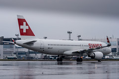 SWISS A320 (n_dunaev) Tags: rain weather clouds plane airplane shower star flying spring airport moscow swiss aircraft flight landing airline airbus airlines takeoff lufthansa spotting dme alliance swissair planespotting domodedovo sharklets