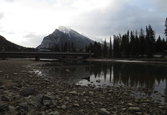 Rundle over the Bow River, Banff (Dave1985) Tags: morning mountain river bow banff rundle banffnationalpark