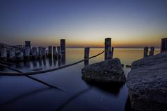 Spring Sunrise (Christopher.F Photography) Tags: lake chicago sunrise pier nikon rocks michigan fullerton d800