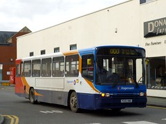 Stagecoach North West 20219 P219HBD leaves Carlisle bus station (brucekitchener) Tags: volvob10m stagecoachnorthwest alexanderps