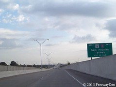 Northbound Fort Bend Parkway Toll Road - One-half Mile to Beltway 8 and Sam Houston Tollway (FreewayDan) Tags: highway texas bend tollway road county parkway area fort houston taken state 122 harris hctra toll fbctra 3302013
