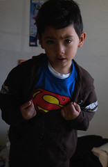 Clark Kent. 86/365 (Victor Von Dooom) Tags: kent kid nikon superman clark 365 1855mm clarkkent kalel supermanshirt d40 youngphotographers 365project