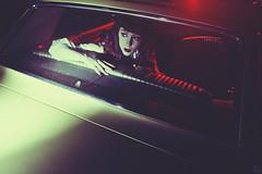 """""""Strange Times"""" (ericigonzalez) Tags: portrait woman classic car female night vintage back noir seat eerie mustange"""