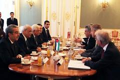 Staatssekretr Lopatka trifft den palstinensischen Prsidenten Abbas (sterreichisches Auenministerium) Tags: abbas palstina lopatka
