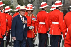 Inspection (Jamie McCaffrey) Tags: red toronto canada nikon uniform inspection helmet royal prince canadian parade sword hrh royalty 3rd forces pith canadianarmedforces battalion 28300 princephilip inspect d600 canadianforces 2013 royalcanadianregiment 3rcr