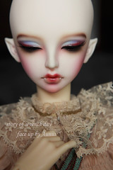 face up-XAGA (Looking for a story) Tags: doll ds makeup dk bjd cb luts volks soom ios faceup leeke sd17 橘四郎 教a