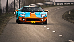 Ford GT Heritage Gulf Edition (Lyon1845) Tags: art heritage ford de photography nikon gulf automotive gt rit edition rond d90 rivieren 2013
