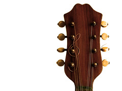 the wood and the wire ii (wobblyfingers) Tags: art mandolin harmony string clef treble