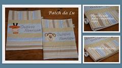 Saquinhos para roupinhas (Patch da Lu) Tags: para roupas saquinho personalizados saquinhos plastificado saquinhomaternidade
