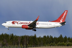 Corendon PH-CDF, OSL (Inger Bjrndal Foss) Tags: norway airplane osl gardermoen corendon phcdf