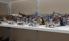 collection shot 2 (s4turn17) Tags: corgi lego transformers snoopy planes smurfs matchbox diecasts toyroom