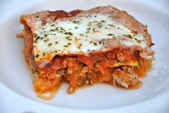 Low-Carb-Lasagna-Dairy-Gluten-Free-by-realhealthyrecipes (Diana @ Real Healthy Recipes) Tags: recipe healthy squash lowcarb paleo lasagna glutenfree dairyfree