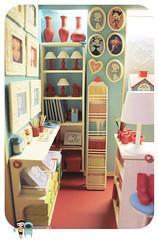 Playscale miniature shop diorama 04